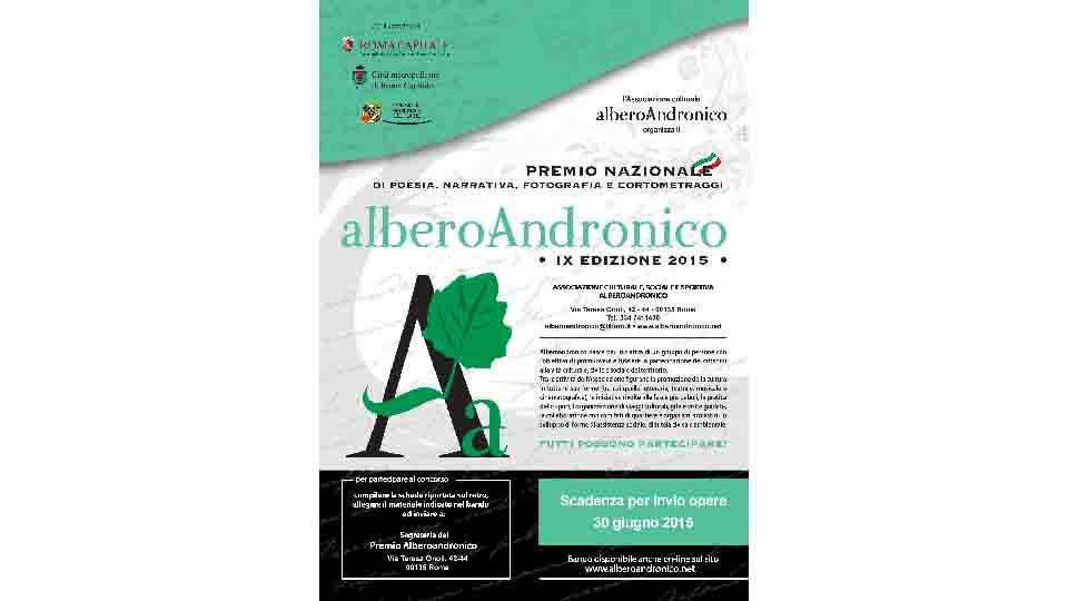 ALBERO ANDRONICO: PREMIO NAZIONALE DI POESIA E NARRATIVA