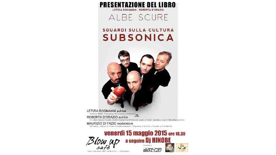 CULTURA SUBSONICA, THIS PLAY PRESENTA