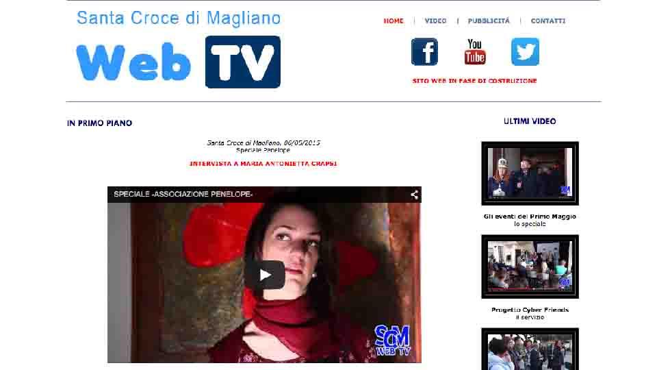 SANTA CROCE DI MAGLIANO HA UNA WEB TV TUTTA SUA
