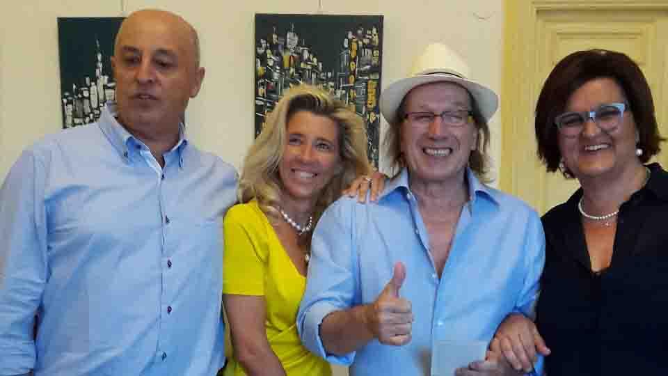 L'ARTISTA MOLISANO LEONARDO PAPPONE A CAPRI