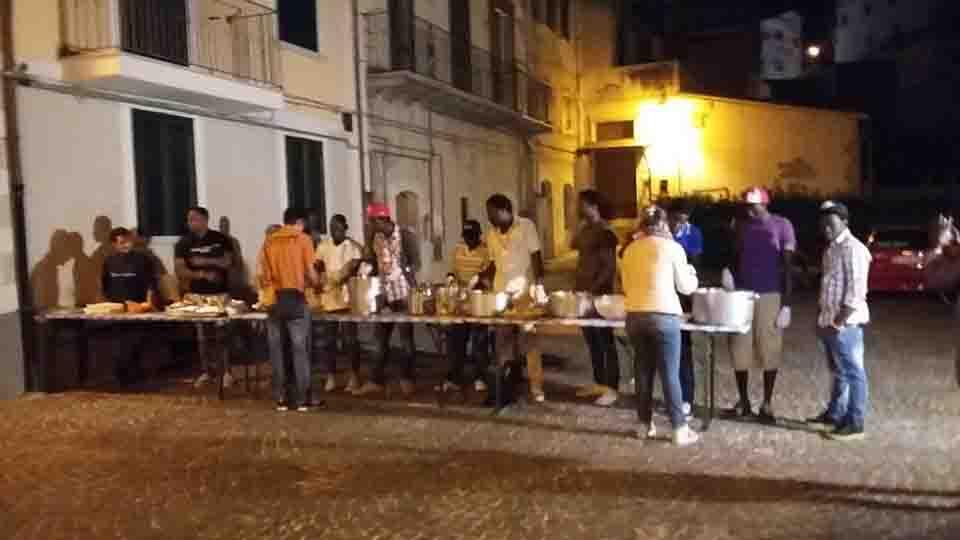 Cena dei popoli ripa