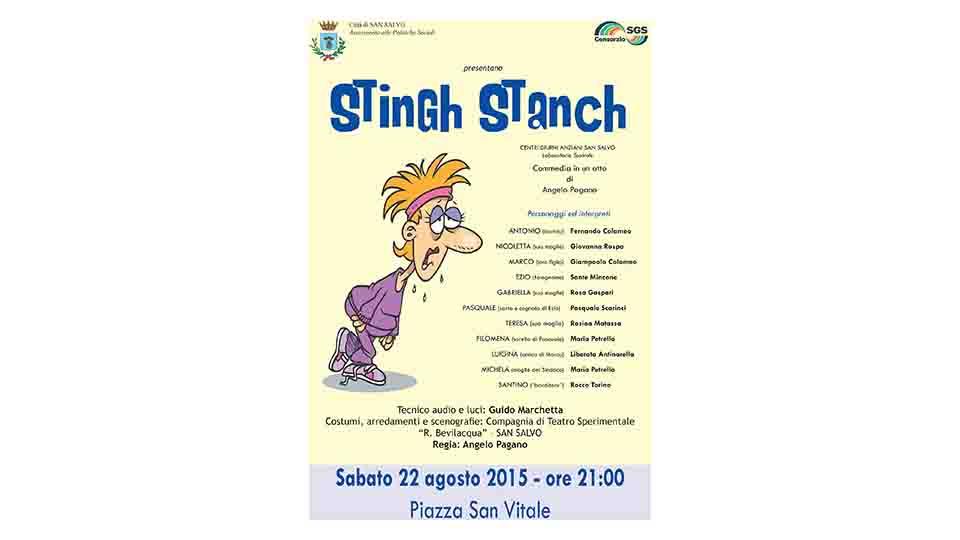 STINGH STANCH, A S.SALVO RECITA LA TERZA ETÀ