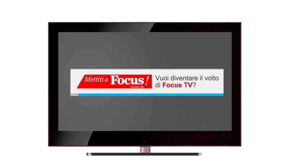 """""""METTITI A FOCUS"""", IL CASTING"""
