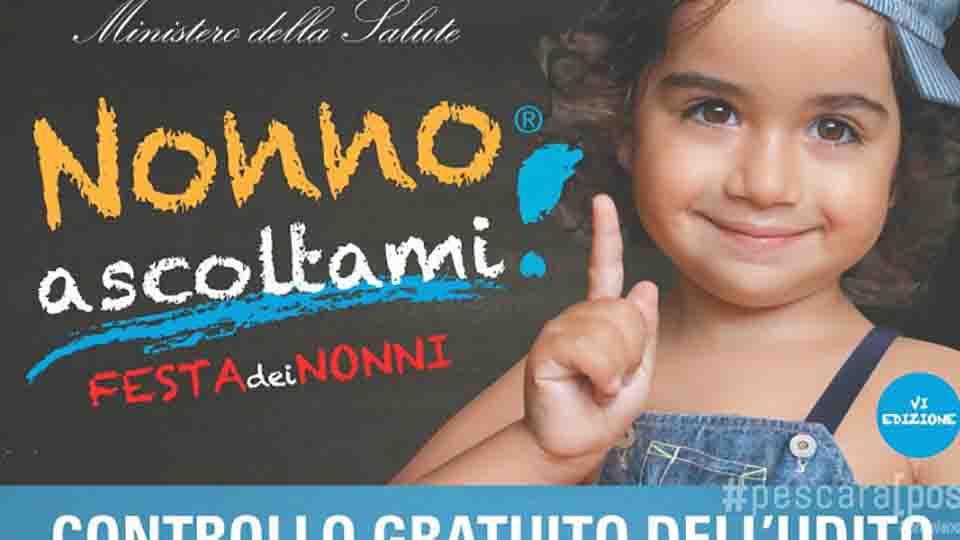 """""""NONNO ASCOLTAMI"""", GIORNATA DI PREVENZIONE IN MOLISE"""