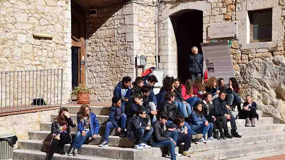 UNA VISITA AL CASTELLO PER GLI STUDENTI DELLA COLOZZA