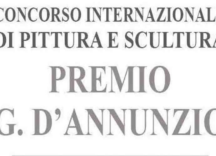 """XXIII PREMIO """"G. D'ANNUNZIO"""", PRESENTATO IL BANDO"""