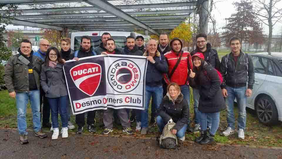 """EICMA 2015, IL CLUB """"OGNORADESMO"""" DI PESCARA A MILANO"""
