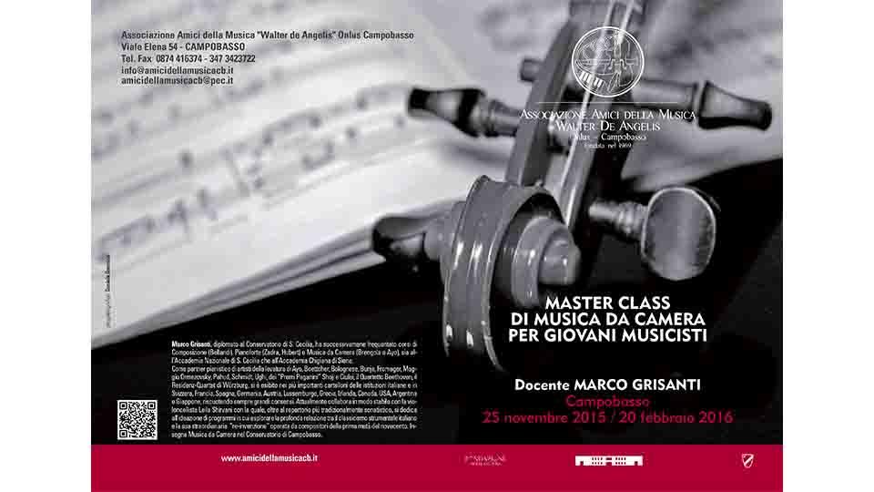 MUSICA DA CAMERA, CAMPOBASSO MASTER CLASS