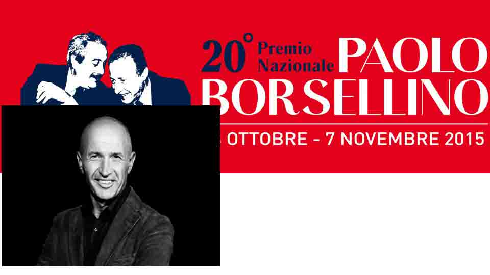 PREMIO BORSELLINO 2015 A DOMENICO IANNACONE