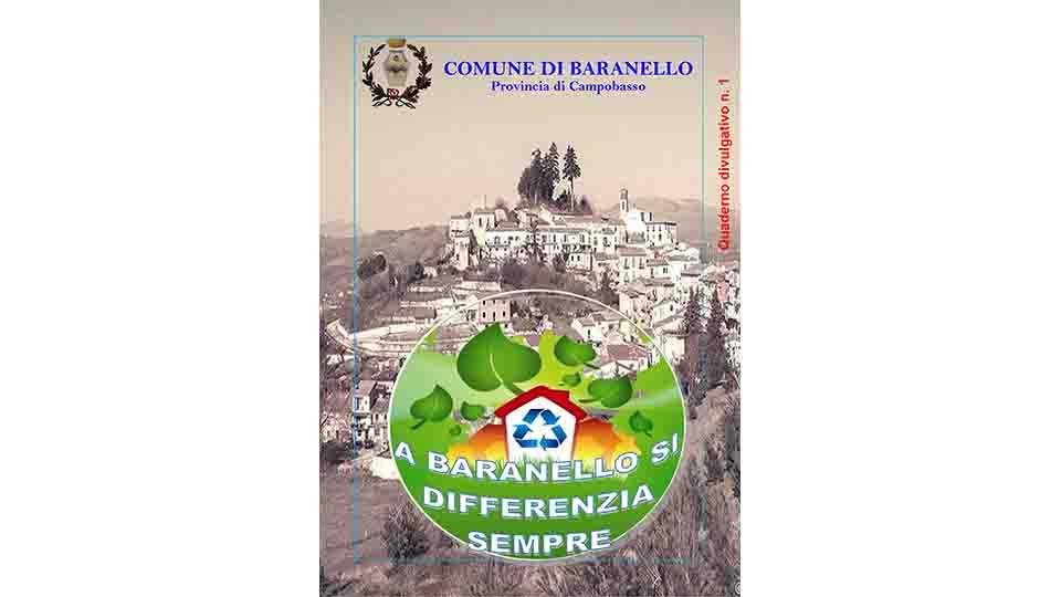 QUADERNO DIVULGATIVO N. 1 RACCOLTA DIFFERENZIATA BARANELLO (CB)