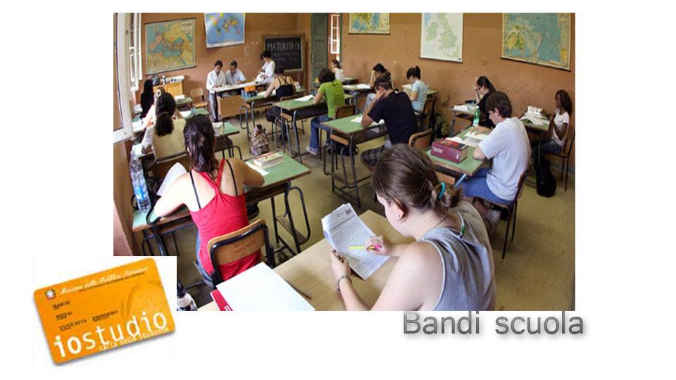 bandi scuola e io studio