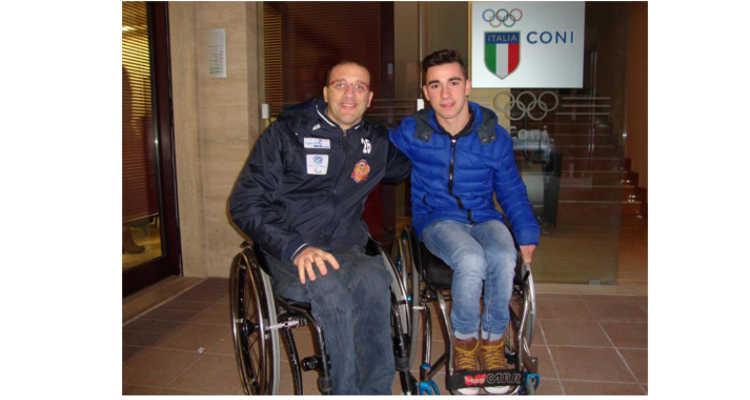 ANDREA, CAMPIONE NELLO SPORT E NELLO STUDIO