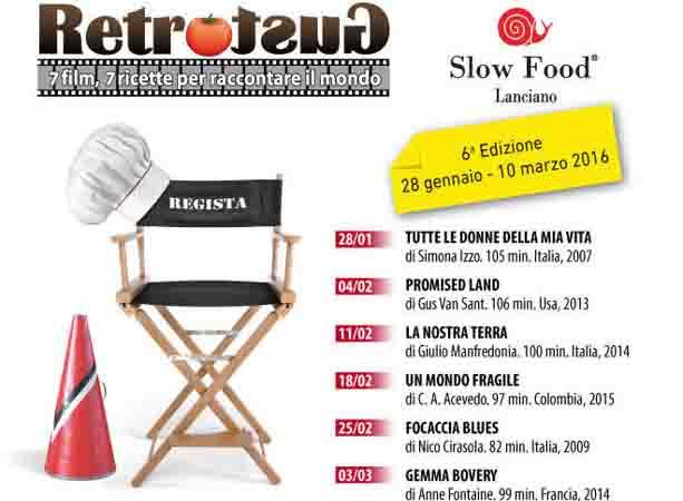 RETROGUSTO, INCONTRO TRA CIBO E CINEMA