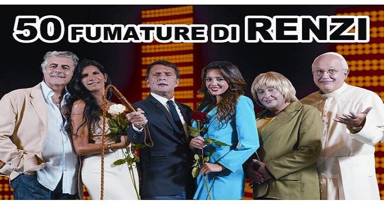 50 sfumature di Renzi