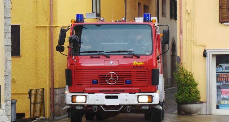 Roccavivara, il camion dei pompieri è arrivato