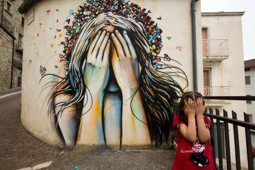 Street art Pasquini