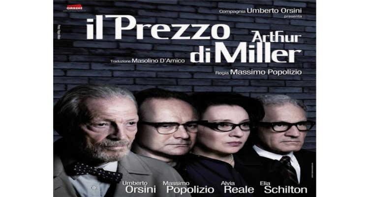 """""""IL PREZZO"""" DI MILLER DOMANI AL SAVOIA DI CAMPOBASSO"""
