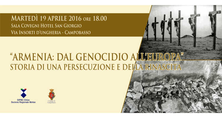 ARMENIA, LA STORIA DELLA PERSECUZIONE A CAMPOBASSO