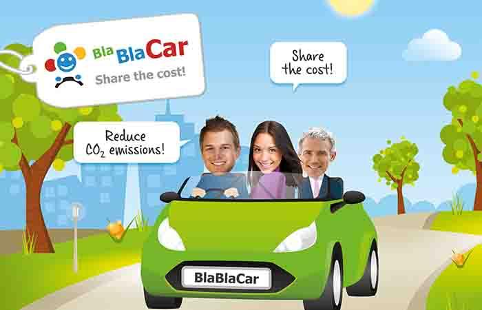 BLA BLA CAR, SI PRENOTA ONLINE ANCHE IN MOLISE