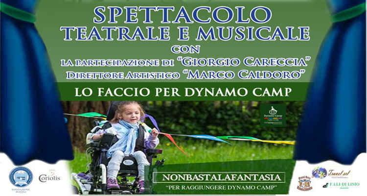 SAVOIA, STUDENTI IN SCENA PER DYNAMO CAMP
