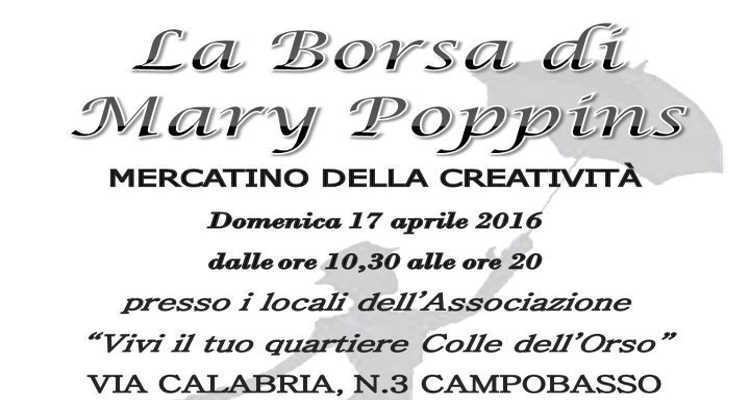 SPORT E CREATIVITÀ CON 'LA BORSA DI MARY POPPINS'