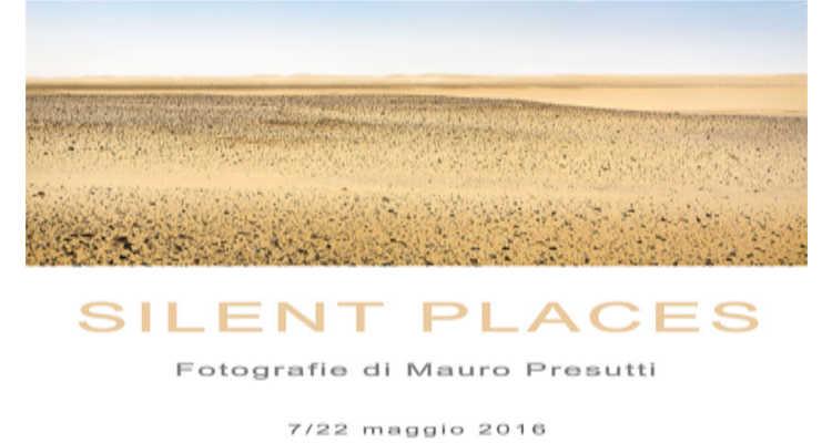 """""""SILENT PLACES"""", LA MOSTRA DI PRESUTTI AL LIVRE"""