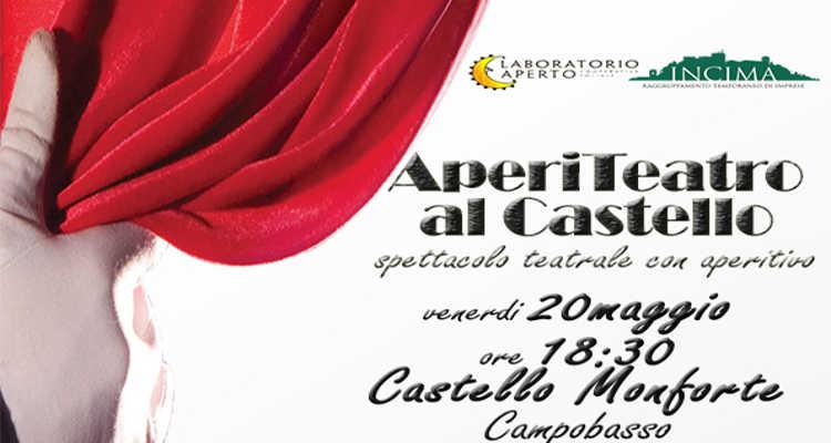APERITEATRO AL CASTELLO, L'EVENTO A CAMPOBASSO