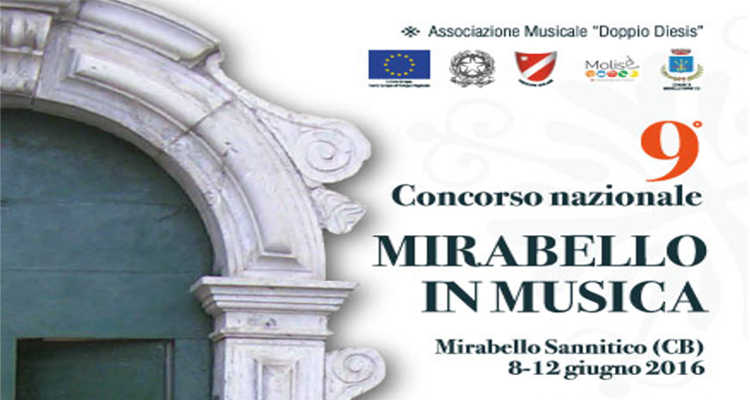 MIRABELLO IN MUSICA, AL VIA IL CONCORSO