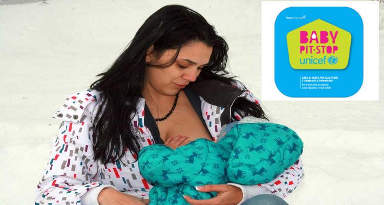 MISTERI, BABY PIT STOP UNICEF PER CAMBIO E ALLATTAMENTO BIMBI
