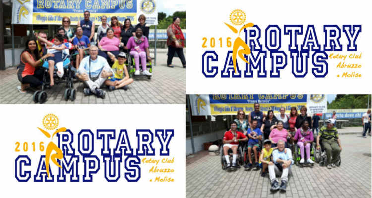 CAMPUS ROTARY, DIVERTIMENTO OLTRE OGNI BARRIERA