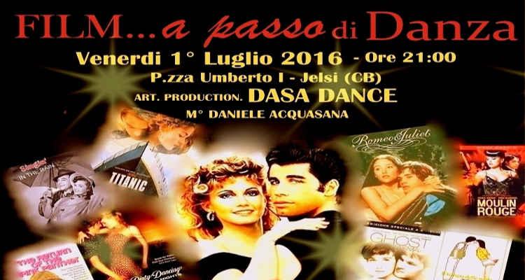 FILM A PASSO DI DANZA, E' SUBITO SPETTACOLO CON DASA DANCE