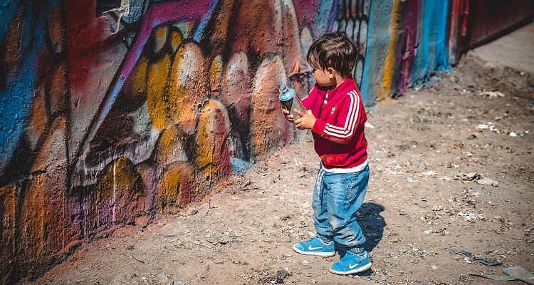 STREET ART PER I BAMBINI OGGI A CAMPOBASSO