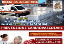 Riccia, prevenzione cardiovascolare gratuita in piazza