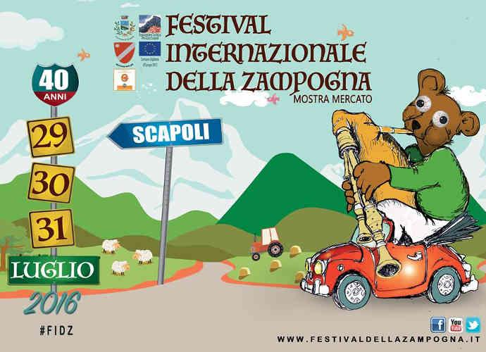 Scapoli, tutto pronto per il Festival della Zampogna