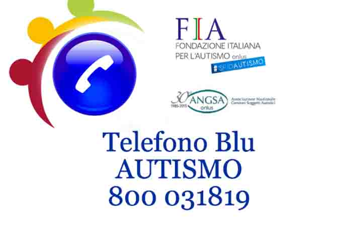 Telefono blu autismo