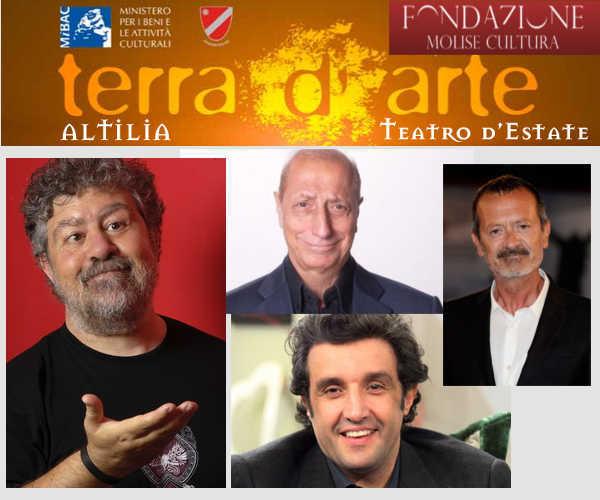 Terra d'Arte, il teatro d'estate targato Fondazione Molise Cultura
