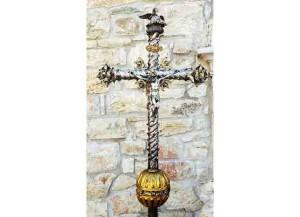 Campodipietra, Croce di Prospero Eustachio alla festa patronale