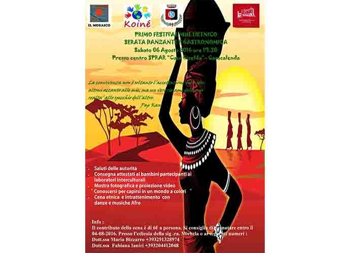 Casacalenda, festival multiculturale all'insegna della condivisione