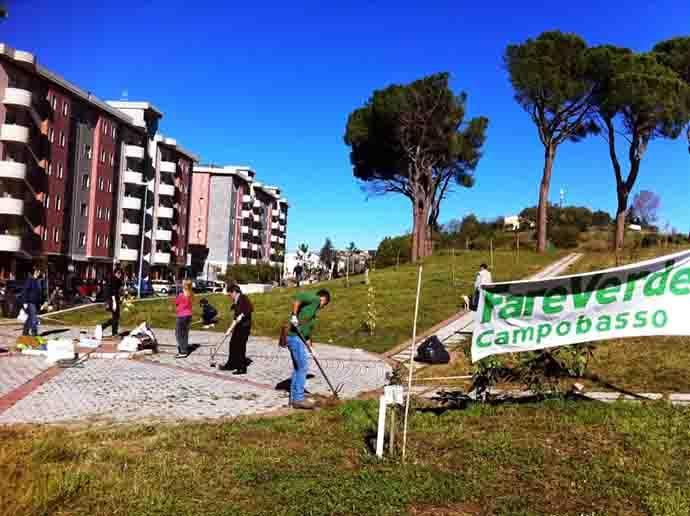 #Ecologicamente, un pomeriggio ecologico a Campobasso