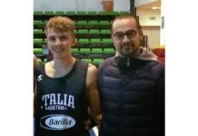 Giuseppe Oriente, cestista termolese in serie A con l'Avellino