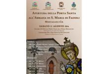 Montagano, apertura della Porta Santa a Faifoli