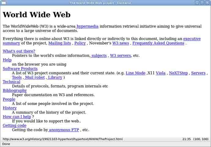 Nozze d'argento per il sito web, 25 anni fa il primo