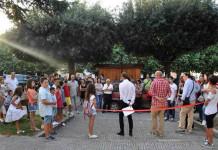 Riccia, il consiglio dei bambini inaugura il nuovo parco giochi