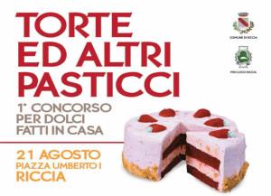 Riccia, un concorso per i dolci fatti in casa