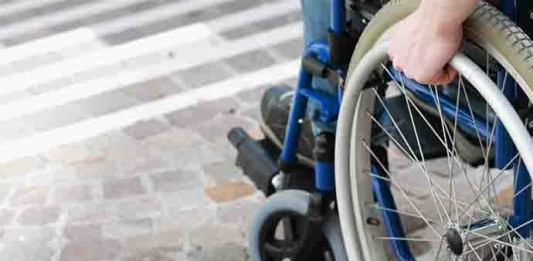 Disabilità e barriere, a Campobasso un bel 2 in pagella