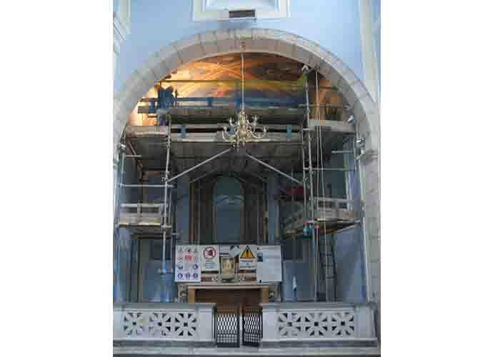 Gli Evangelisti, iniziato il restauro dell'opera di Trivisonno