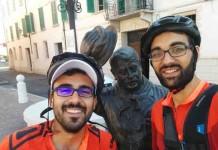 """Luca e Davide, in bici per """"assaporare"""" l'Italia...e anche il Molise"""