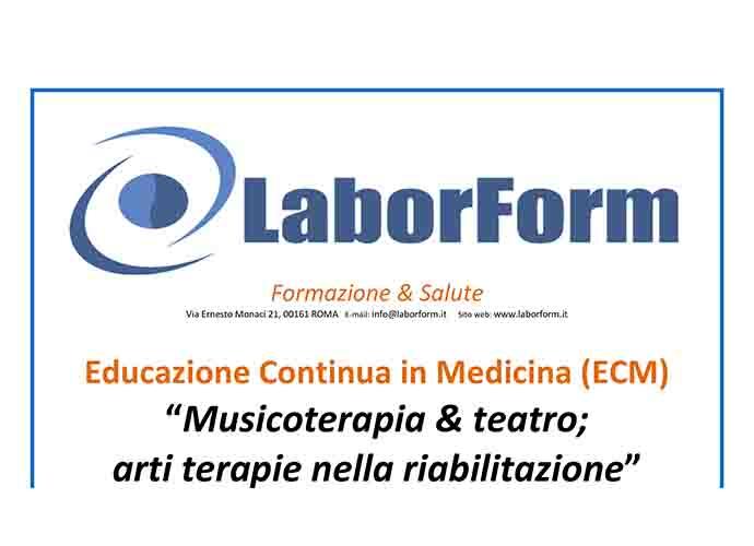 Musica e teatro: terapie nella riabilitazione, un convegno a Campobasso