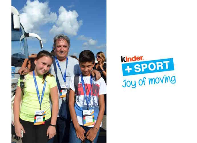 Piccoli schermidori termolesi al Trofeo CONI Kinder+Sport