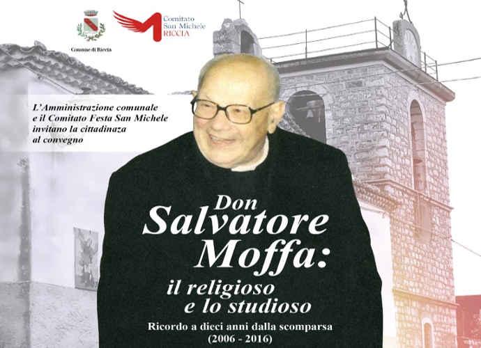 Riccia, un convegno per ricordare Don Salvatore Moffa